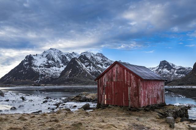 Lofoten im Winter - fotokunst von Stefan Schurr