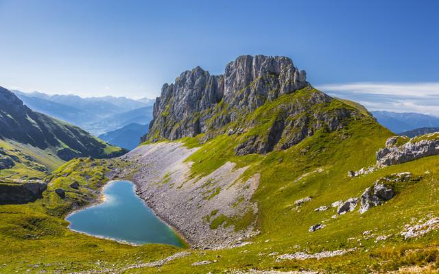 Herz der Alpen - fotokunst von Torsten Muehlbacher