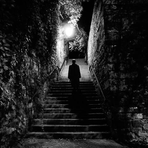 film noir mood - fotokunst von Emiliano Grusovin