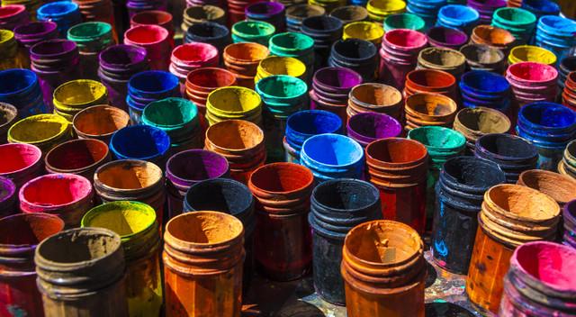 Color of Lapaz - fotokunst von Davide Carnevale