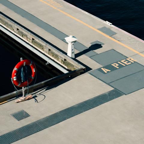 A pier - fotokunst von Igor Krieg