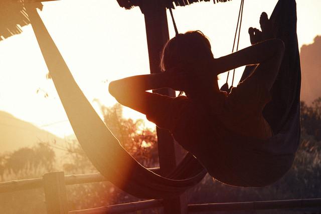 hammock lifestyle - fotokunst von Jan Eric Euler