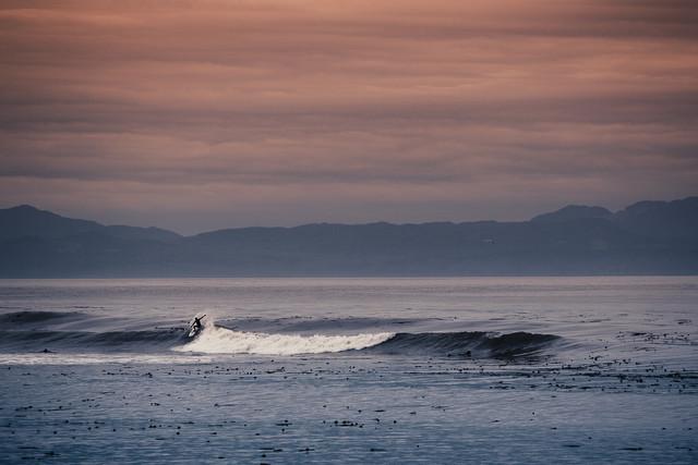 early morning surf - fotokunst von Jan Eric Euler