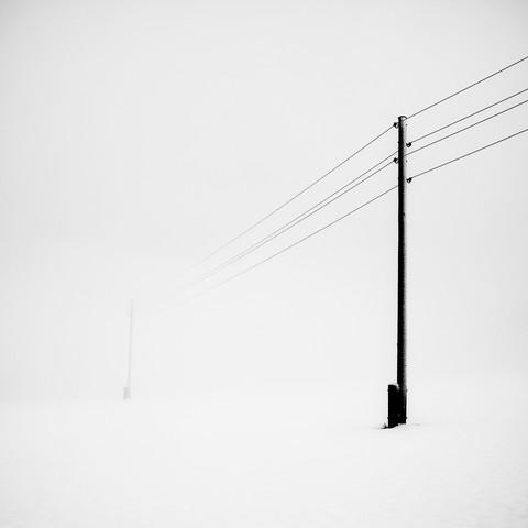 white noise - fotokunst von Hannes Ka