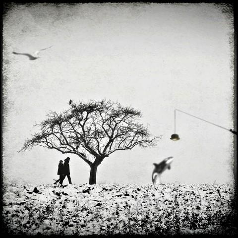 Flâner dans l'après-midi - fotokunst von Frank Wöllnitz