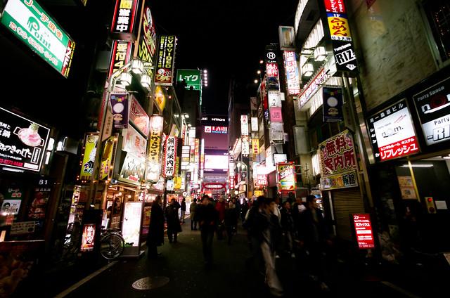 Tokyo Kabukitcho - fotokunst von Jim Delcid