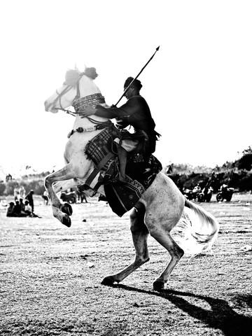 leap of grace - fotokunst von Jagdev Singh