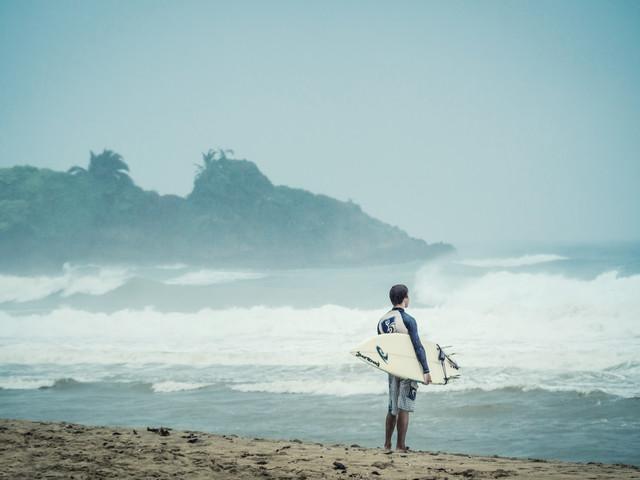 Waiting for the Wave - fotokunst von Johann Oswald