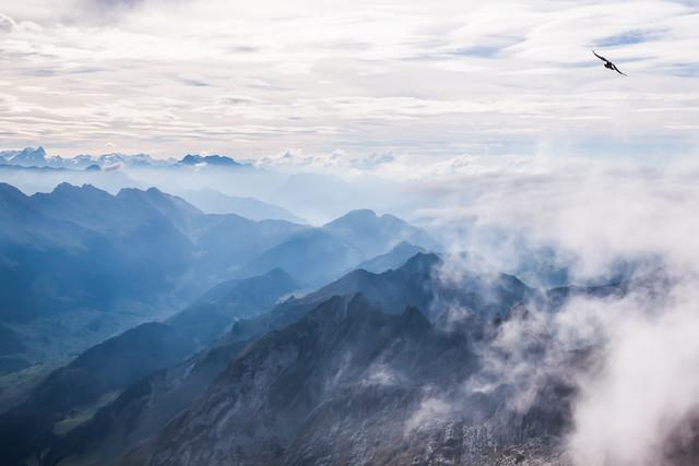 Alpes - fotokunst von Christian Görgen