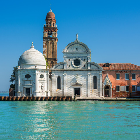 Venedig - Chiesa di San Michele in Isola - fotokunst von Jean Claude Castor