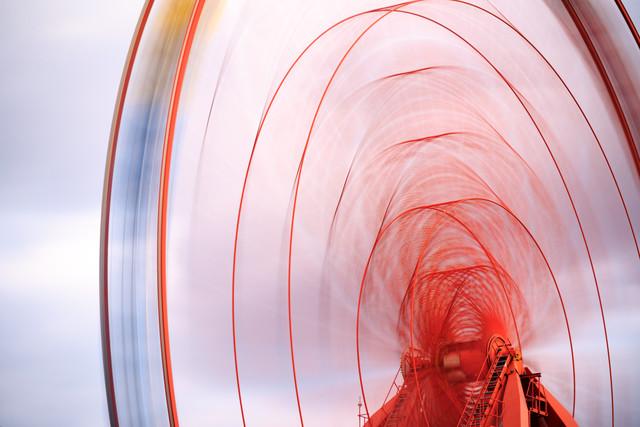 Riesenrad - fotokunst von Holger Nimtz