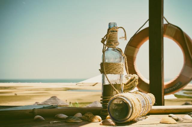 at the beach - fotokunst von Jochen Fischer