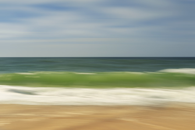 wave - fotokunst von Holger Nimtz