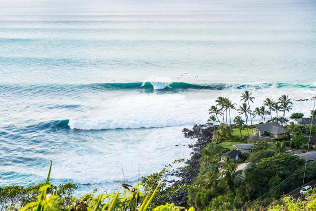 Waimea Bay - fotokunst von Lars Jacobsen