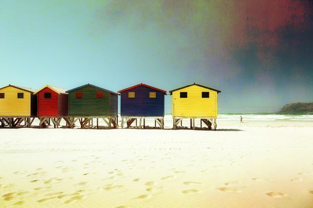 Muizenberg - fotokunst von Eva Stadler
