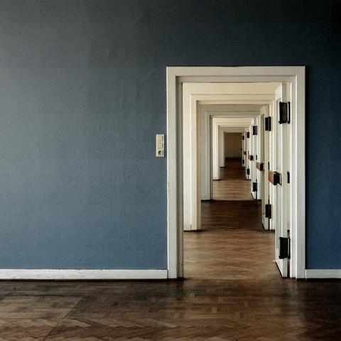 Der blaue Raum - fotokunst von David Foster Nass