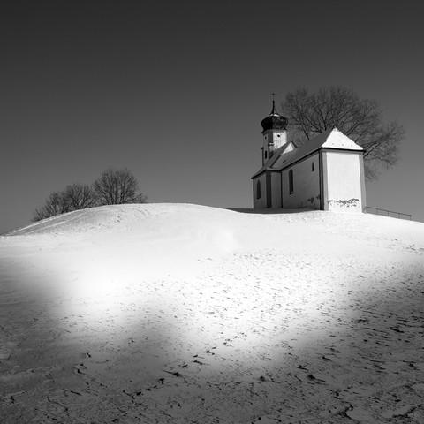 Kapelle in Süddeutschland - fotokunst von Ernst Pini