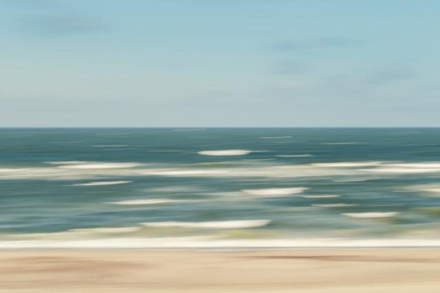 stormy sea - fotokunst von Holger Nimtz