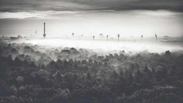Ein Morgen im Herbst - fotokunst von Ronny Behnert