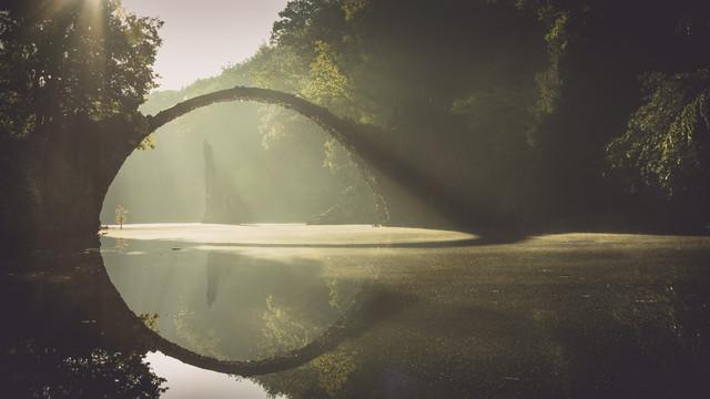 Rakotzbrücke - Study 4 - fotokunst von Ronny Behnert