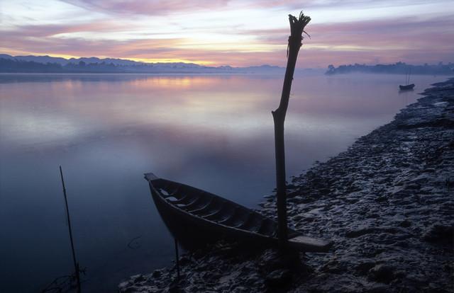 Stille über dem Lemro - fotokunst von Martin Seeliger