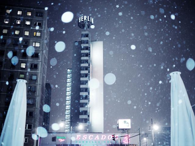Berlin Schnee - fotokunst von Joachim Wagner