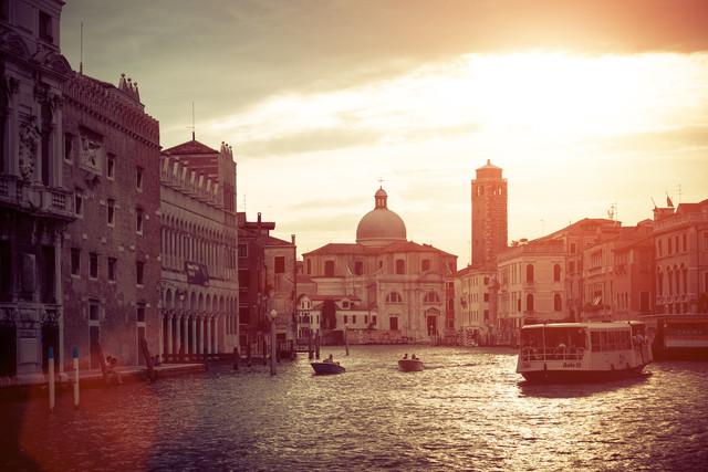 Venedig - fotokunst von David Engel