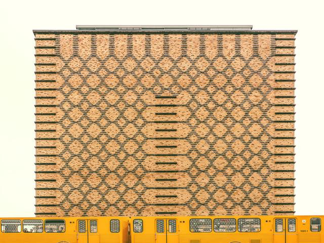 Stadtbahn - fotokunst von Klaus Lenzen