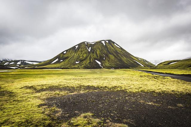 Fjallabaksleið Nyrðri, auf der F208 - fotokunst von Norbert Gräf