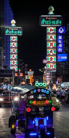Nightlife Chinatown 7 (Bangkok) - fotokunst von Jörg Faißt
