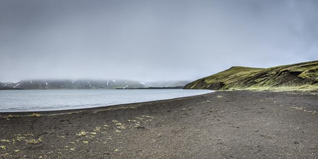 Frostastaðavatn, Island - fotokunst von Norbert Gräf