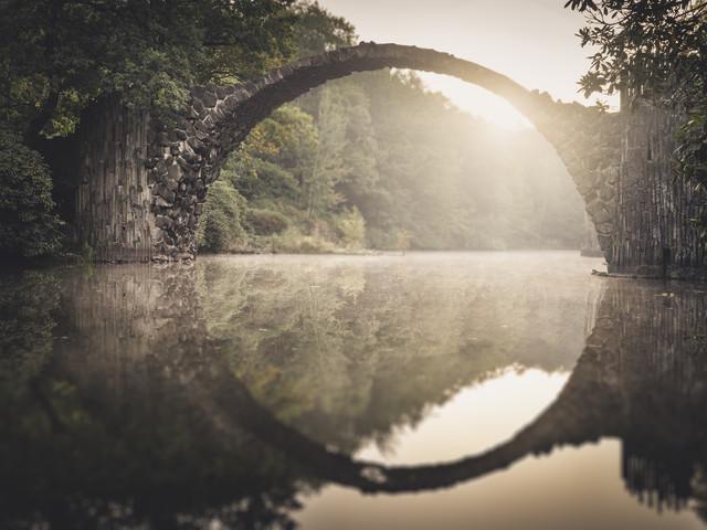 Rakotzbrücke Study 5 - fotokunst von Ronny Behnert