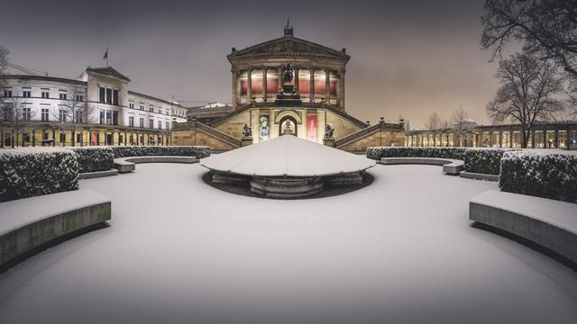 Alte Nationalgalerie Panorama Berlin - fotokunst von Ronny Behnert