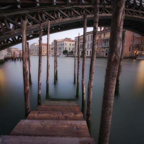 Ponte dell'Accademia | Venice | Italy, Ponte dell'Accademia | Venedig | Italien - fotokunst von Dennis Wehrmann