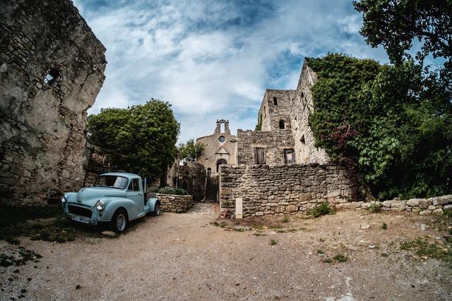blue car - fotokunst von Andi Weiland