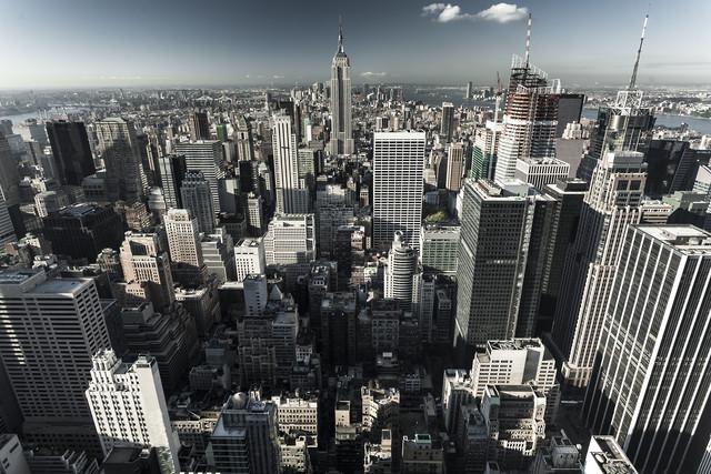 New York 1 - fotokunst von Jörg Carstensen
