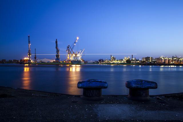 Schiffslichter - fotokunst von Jörg Carstensen