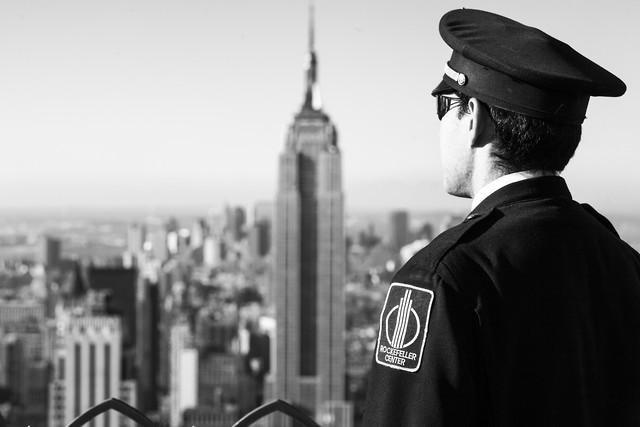 Rockefeller Center - fotokunst von Jörg Carstensen