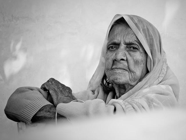 grace - fotokunst von Jagdev Singh