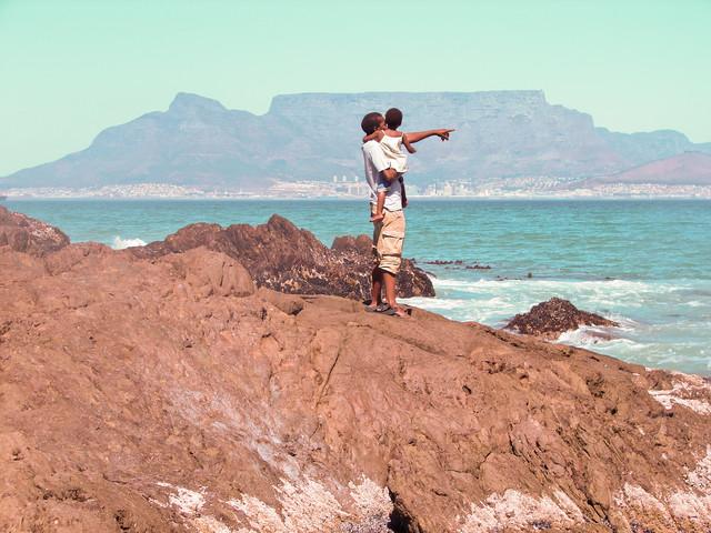 Kapstadt | Tafelberg - fotokunst von Jessica Barnewitz