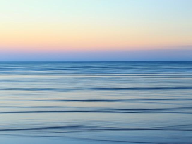 calm sea - fotokunst von Holger Nimtz