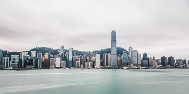 Hongkong 2:1 - fotokunst von Sebastian Rost