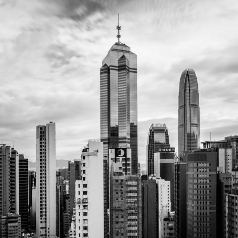 Hongkong 1:1 s/w - fotokunst von Sebastian Rost