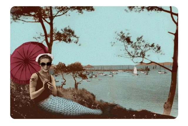 Vacances en Bretagne /3 - fotokunst von Larvol Marianne