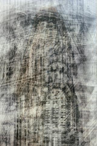 New York buildings - fotokunst von Franzel Drepper
