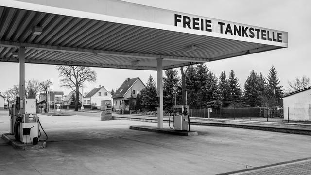 Freie Tanke - fotokunst von Sebastian Rost