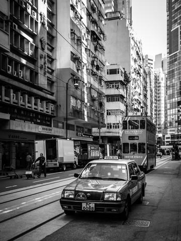Hong Kong traffic - fotokunst von Sebastian Rost