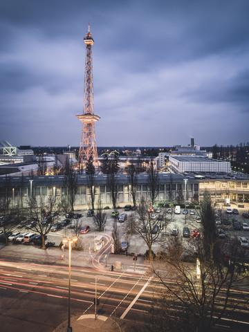 Messegelände Funkturm Berlin - fotokunst von Ronny Behnert