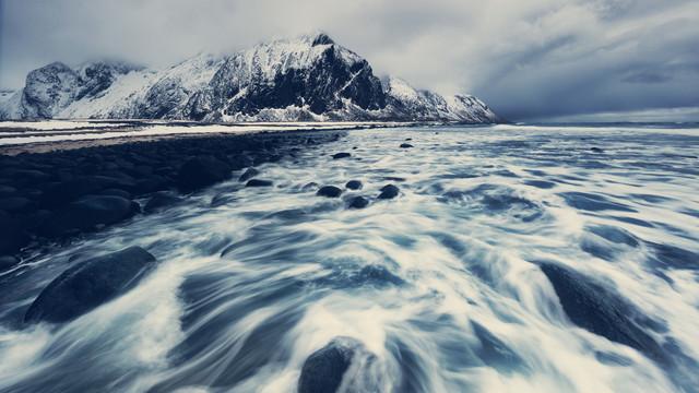 [:] COASTLINE [:] - fotokunst von Franz Sussbauer