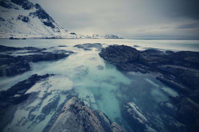 [:] arctic pool [:] - fotokunst von Franz Sussbauer